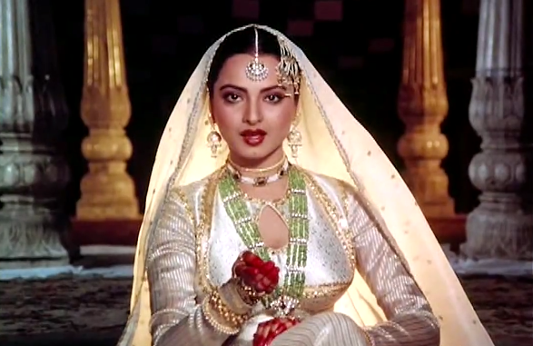 Rekha in Umraon Jan : Ghazal Sung by Asha Bhonsle