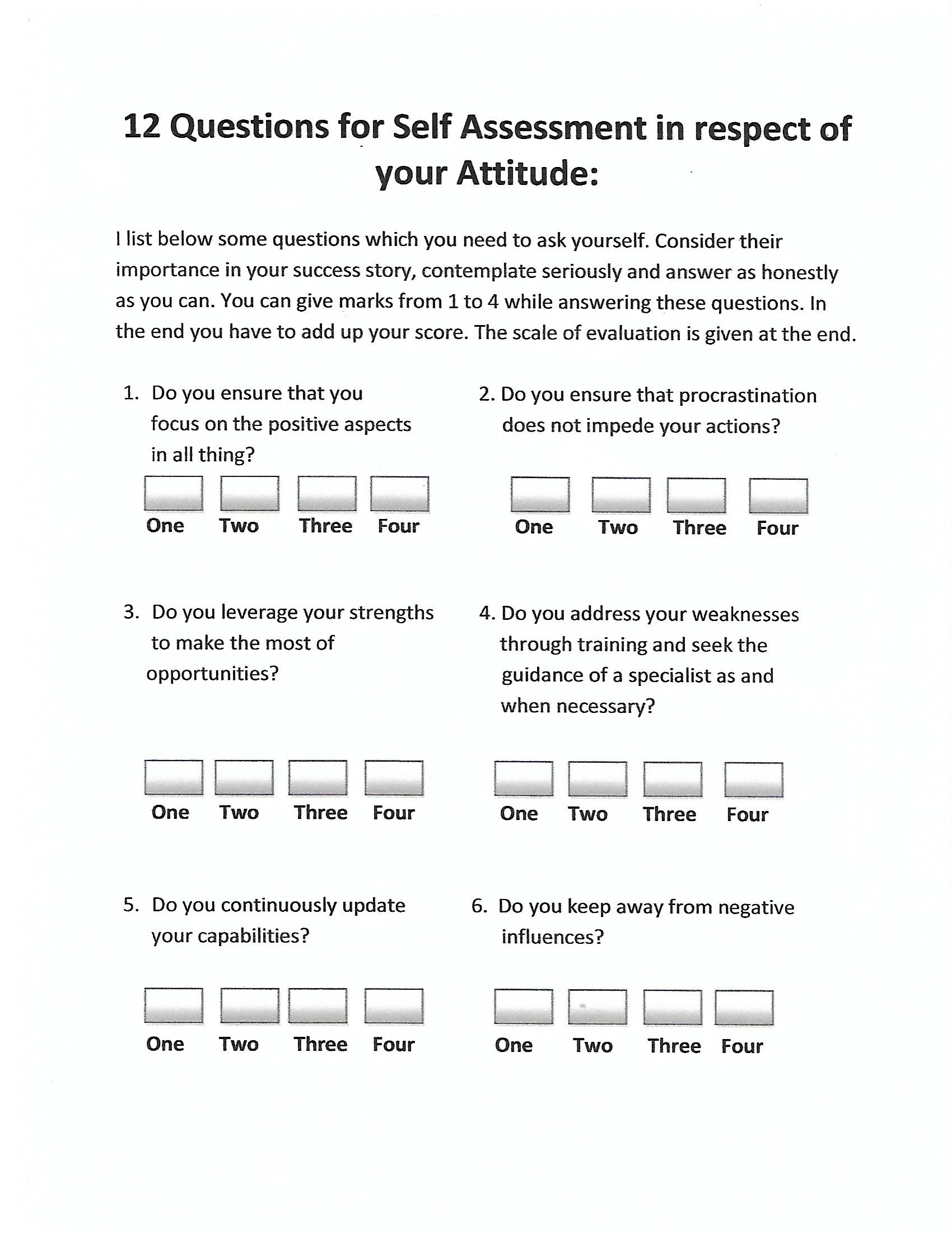 questions for self assessment in respect of your attitude scan0001